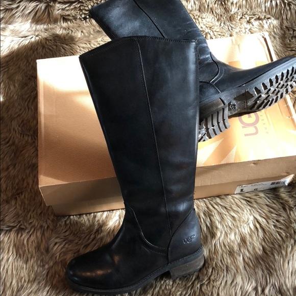 cc233217eaa Ugg Seldon Black Riding Boots